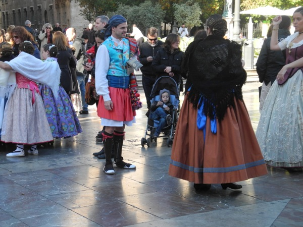 Fallas Demonstration