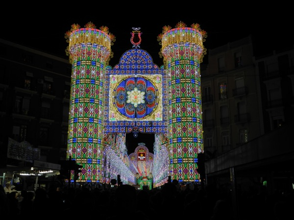 2014 Fallas Light and Music Show